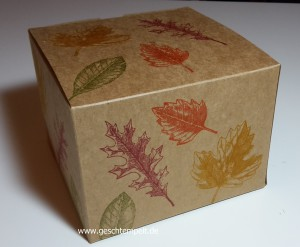 Vintage Leaves, Stampin up