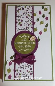 Stampin up, Zwischen den Zweigen, Am Waldrand, Envelope Punch Board