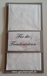 Stampin up Wedding, Awesomely Artistic, Hochzeit, Freudentränen