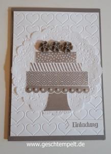 Stampin up, Wedding ,Hochzeit, Invitation, Einladung, Build a birthday