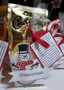 Stampin up, Schneemannsuppe, Es Schneit, frostige Freunde, Pommes-frites-Schachtel