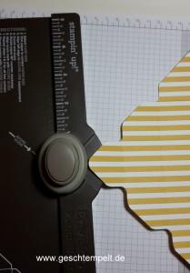 Stampin up, kleines Körbchen, EPB, Korb, Ostern, Envelope Punch Board, Stanz- und Falzbrett für Umschläge
