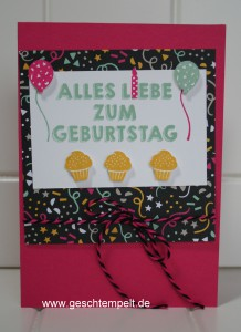 Stampin up, Party-Grüße, Meine Party