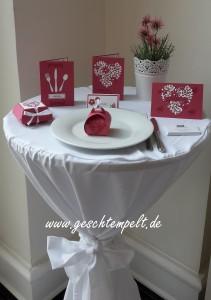 Stampin up, Hochzeit, Wedding, Blühendes Herz, Einladung