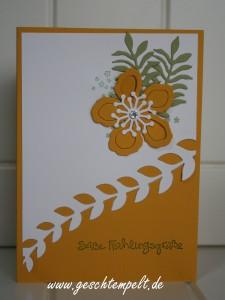 Stampin up, Körbchen, Ostern, Planzen-Potpourri, Botanical Blooms, Botanischer Garten