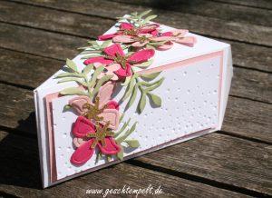 Stampin up, Hochzeit, wunderbare Worte, Pflanzen-Potpourri, Botanical Builders, Tortenstück, cutie Pieleise rieselt