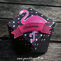 Bannerweise Grüße, Diamantbox, Pink mit Pep, Pop of Paradies, stampin up
