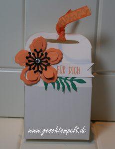 Stampin up, Leckereienbox, Pflanzen-Potpourri, Perfekt verpackt