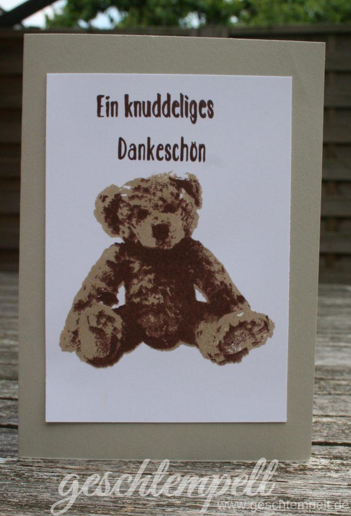 Stampn up, Unentbärliche Grüße, Baby Bear