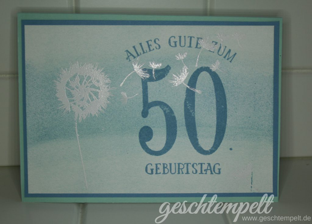 Stampin up, Partyballons, So viele Jahre, Number of Years