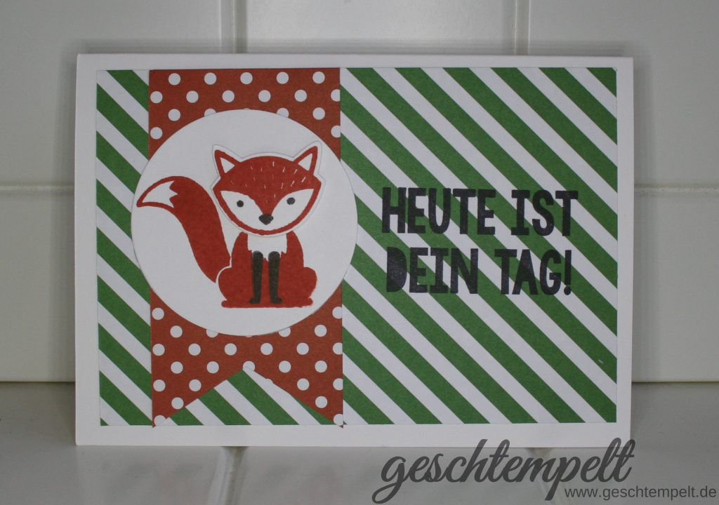 Stampin up, Folxy Friends, Kein Geburtstag ohne Kuchen, Party with Cake