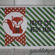 Stampin up, Folxy Friends, Kein Geburtstag ohne Kuchen, Party with Cake