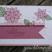 Stampin up, Blühende Worte, Blütenpoesie, Flourishing Phrases, Flourish