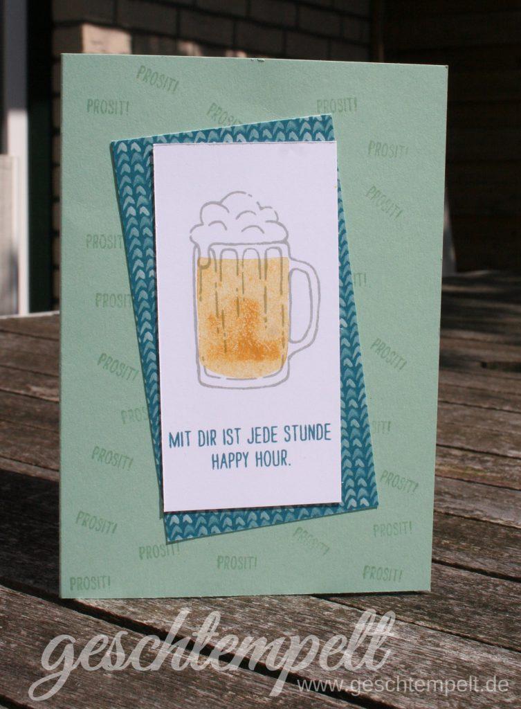Stampin up, Maßvolle Grüße, Mixed Drinks