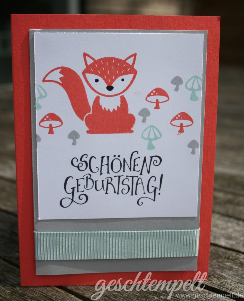 Stampin up, Foxy Friends, Doppelt gemoppelt, Better Together