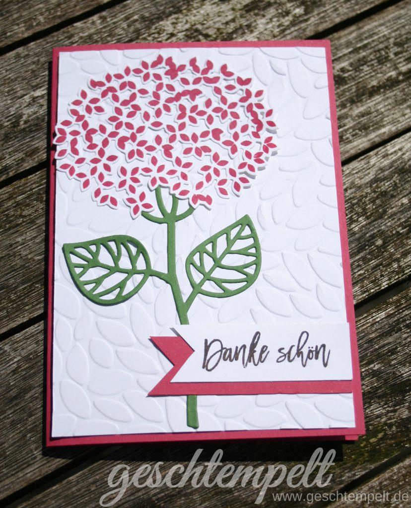 Stampin up, Wald der Worte, Blatt und Blüte, Thoughtful Branches