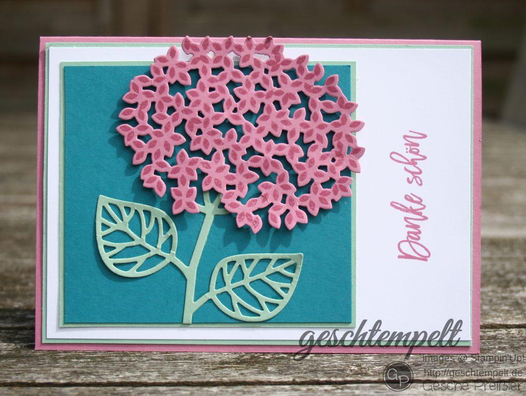 Blatt und Blüte, stampin up, Thoughtful Branches, Wald der Worte