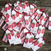 Stampin up, Goodies, Erdbeeren, Yoghurette, Fresh Fruits, Strawberries