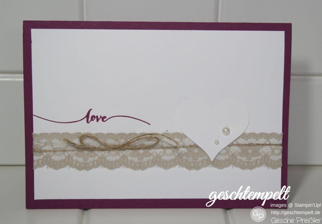 Stampin up, Hochzeit, Einladung, Goodies, Gästegrüße, Hochzeitsgeschenk, Bild