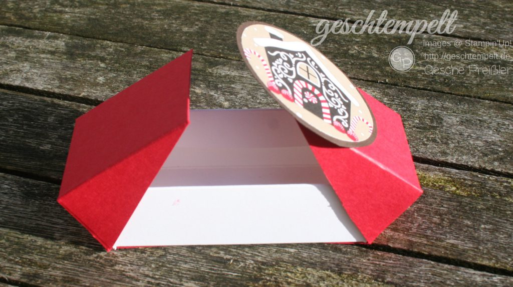Stampin Up, Double Flip Box, ZUckerstangenzauber